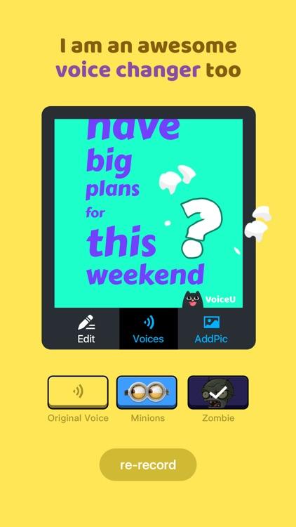 VoiceU-Voice Changer for Snap