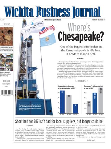 Screenshot of Wichita Business Journal