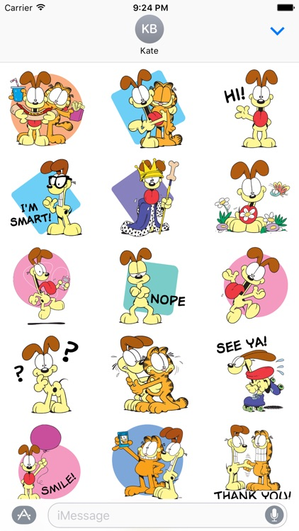 Odie Stickers