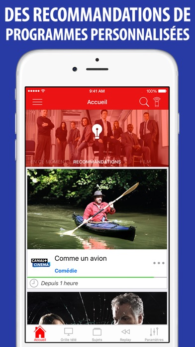 Screenshot #2 pour Télé Poche Guide TV
