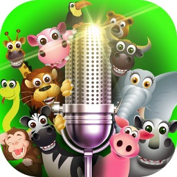 Animal Voice Changer – Super Funny and Scary Sound Modifier & Speech Recorder with Effects
