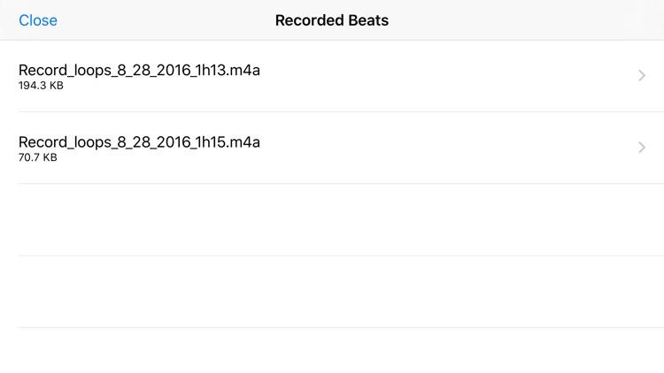 Rap Beat Maker for iPhone screenshot-3