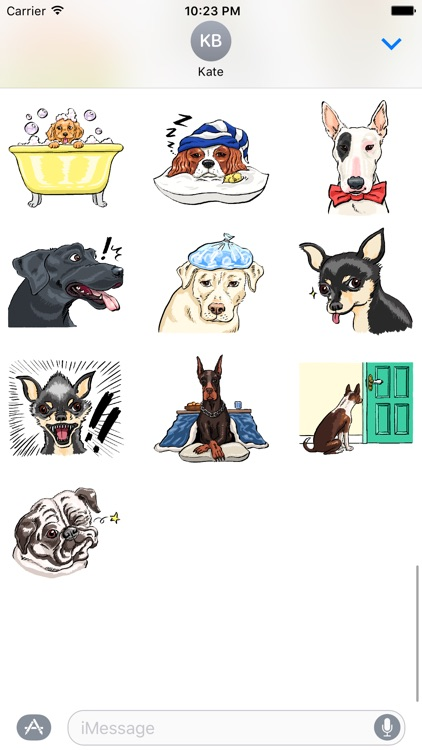 P.S. I Love Dogs - Dog Stickers screenshot-3