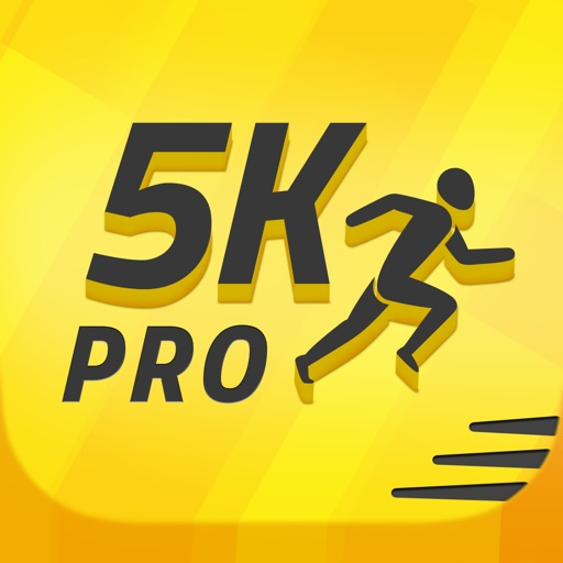 5K Runner: 0 to 5K Run Trainer. Couch potato to 5K app logo