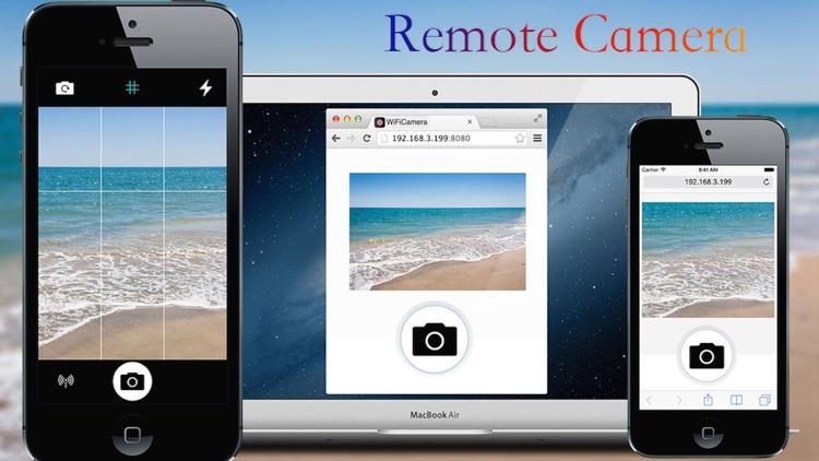 WiFi Camera -Wireless Remote Camera screenshot-3