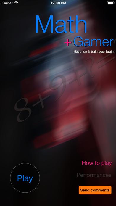 Math Gamer screenshot one