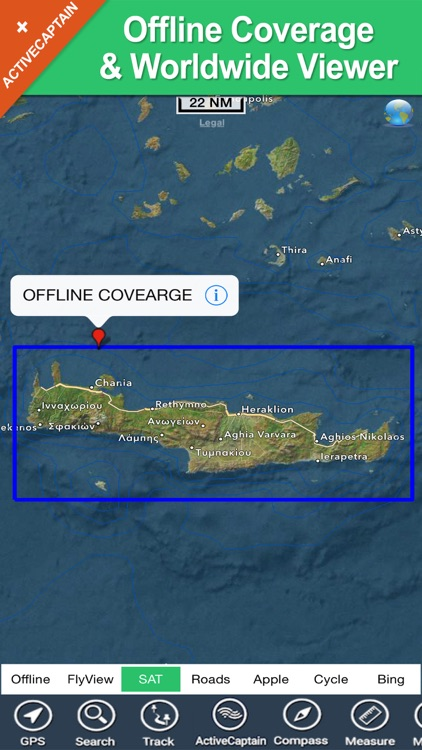 Crete (Greece) HD - GPS Charts screenshot-4