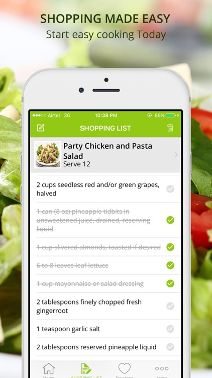 Healthy Diet Salad Recipes | Cook & Learn Guide screenshot-4