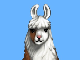 The Llama Diplomat is known around the word for shaking hands with the famous, the infamous, and the nonfamous