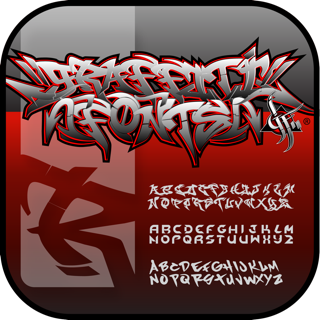 Graffwriter by Graffiti Fonts® on the App Store