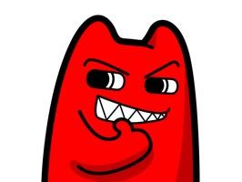 """魔鬼猫是来自未来的ZC66喵星人,因外形酷似地球的猫所以被称为""""魔鬼猫""""。靠吞噬负能量为生,所以只要靠近它们就会莫名的快乐起来~"""