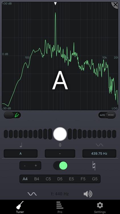 n-Track Tuner free: tune your guitar,bass,ukulele