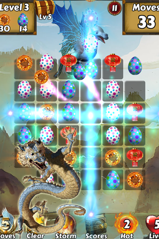 Lucky Dragon Kingdom Adventure - Find the magic ball to save city z screenshot 4