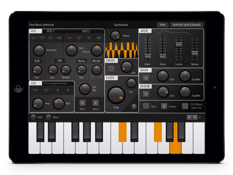 Music Synthesizer Piano: Full-Features Midi Melody keyboard screenshot-4