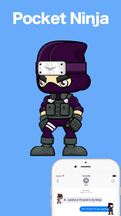 Pocket Ninja - Stickers