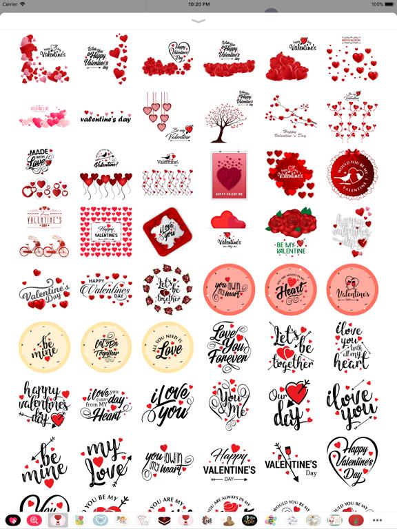Love Stickers Valentine's Days screenshot 8