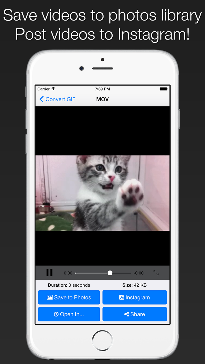 GIFCon - Convert GIFs to video Screenshot