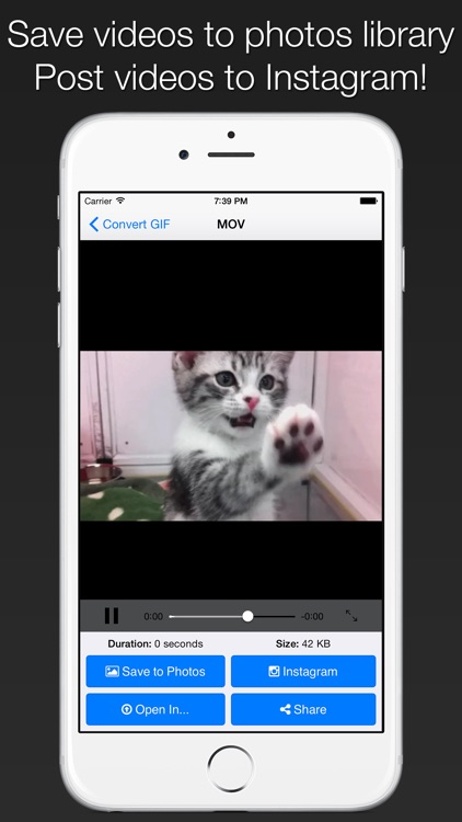 GIFCon - Convert GIFs to video screenshot-2