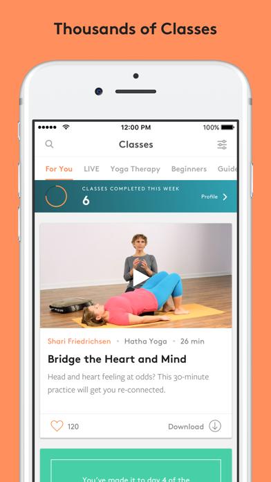 Yoga International Screenshot