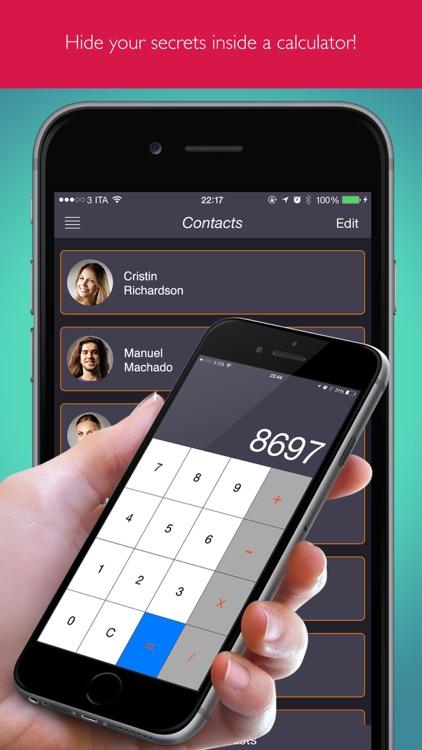 Secret Calculator Contacts Pro