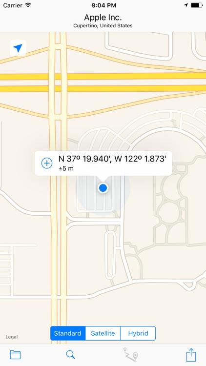 Where Am I? - My Locations