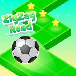 Zig Zag Road - funny ball game