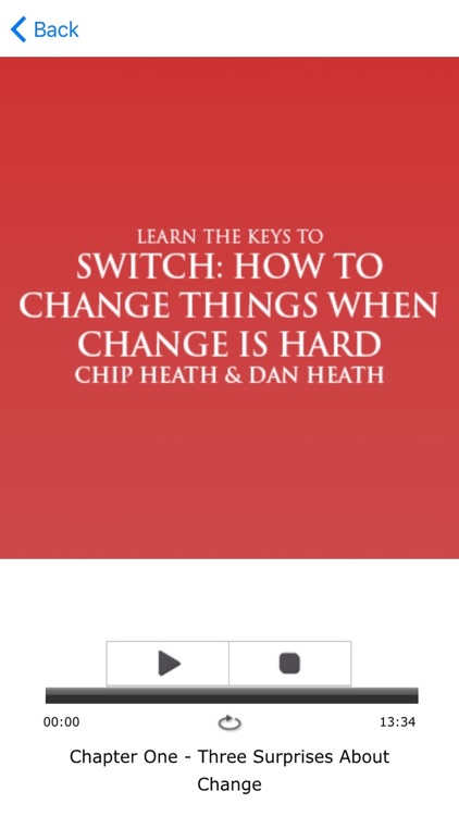Switch by Chip & Dan Heath Meditations Audiobook screenshot-3