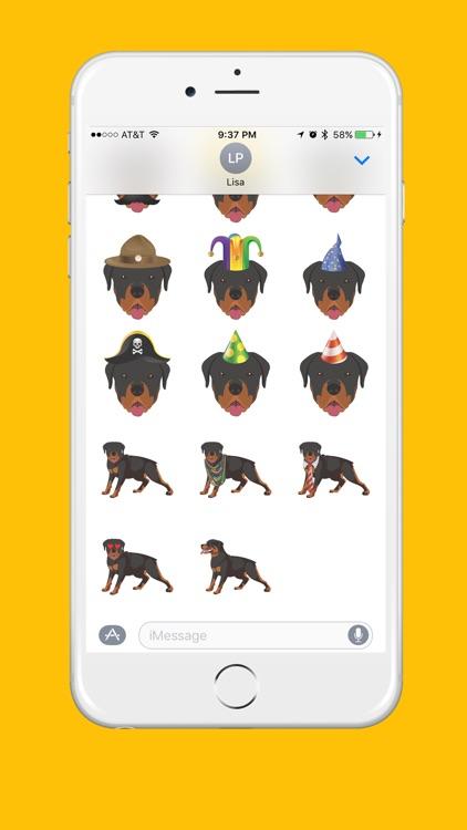 Rottweiler Emoji screenshot-3