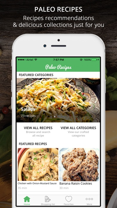 Screenshot #6 for Paleo Recipes Pro - Caveman's Cook Guide