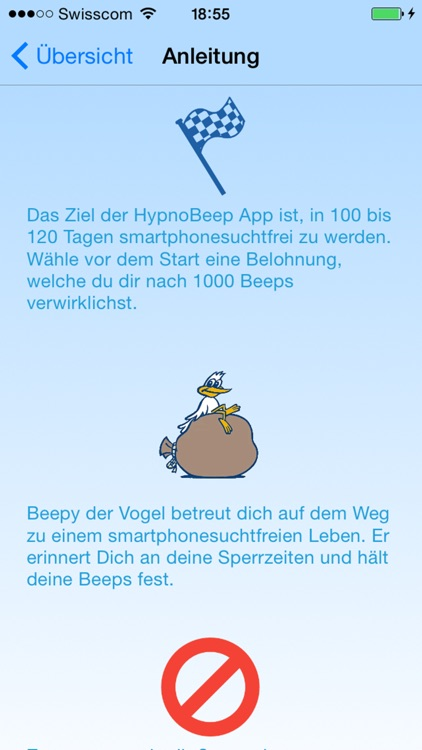 HypnoBeep für Handysucht screenshot-3