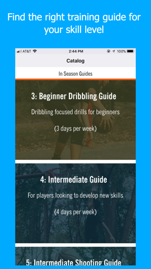 Blueprint athletes basketball on the app store blueprint athletes basketball on the app store malvernweather Images