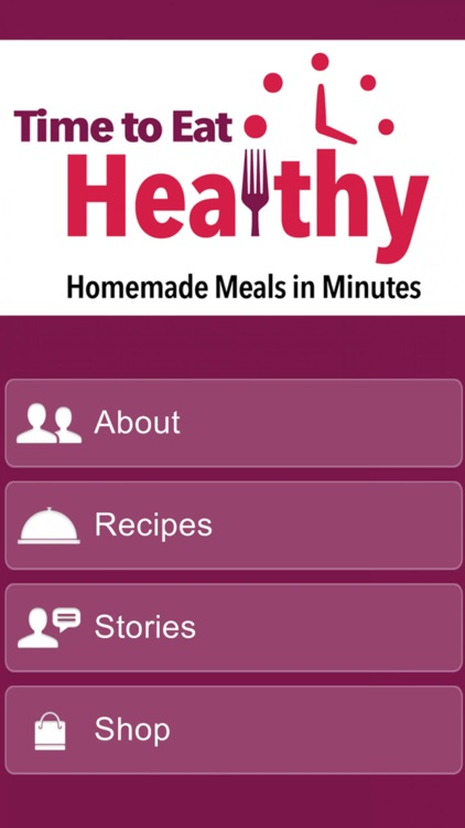 Eat Healthy: Homemade Meals screenshot-0