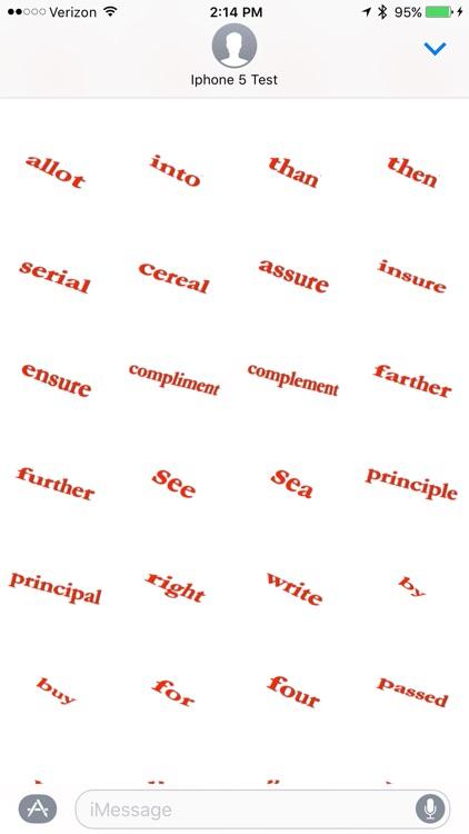 Spell Check - Sticker Pack screenshot-3