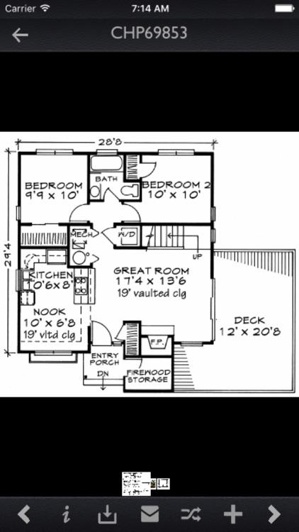 Cabin House Plans Info Pro screenshot-3