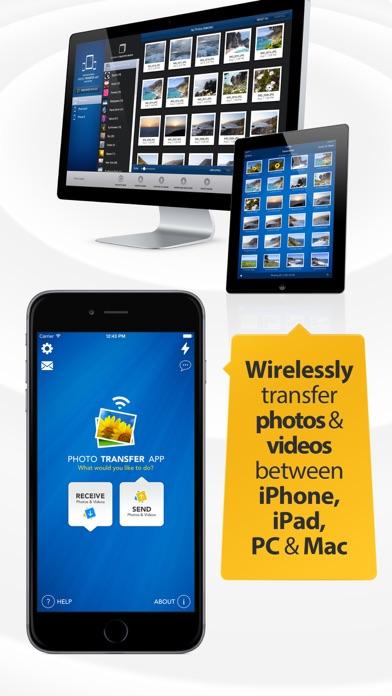 Photo Transfer App - Easy backup of photos+videos app image
