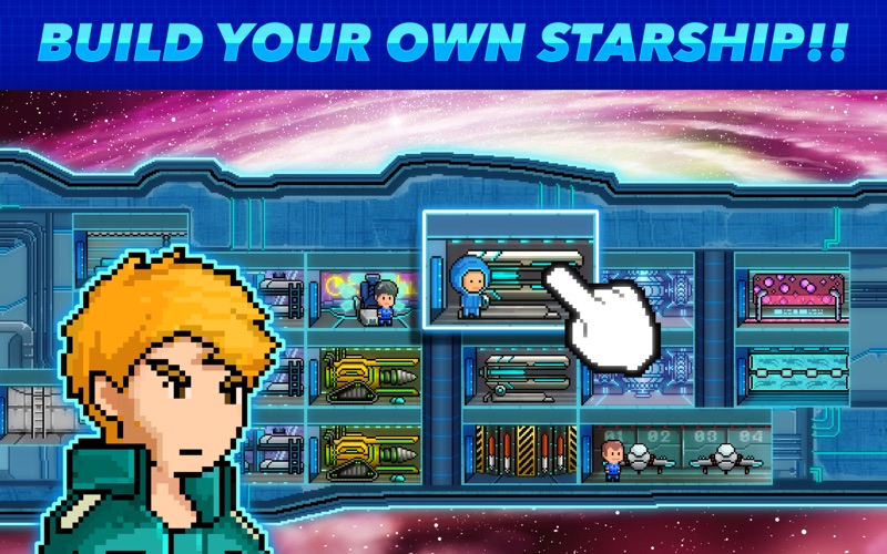 Screenshot #1 pour Pixel Starships