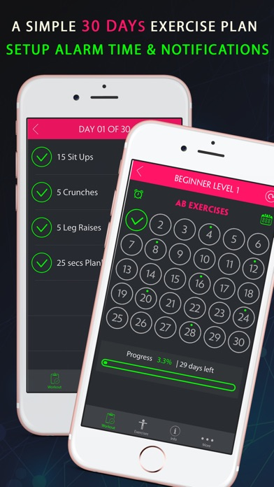 30 Day Push Up Fitness Challenges ~ Daily Workout app image