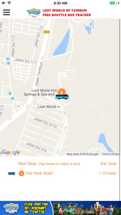 Lost world free shuttle bus tracker by sunway berhad lost world free shuttle bus tracker gumiabroncs Choice Image