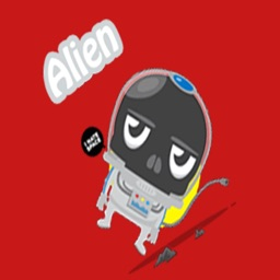 Alien Sticker Pack for iMessages