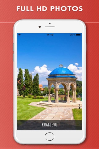 Serbia Travel Guide with Offline City Street Map - náhled