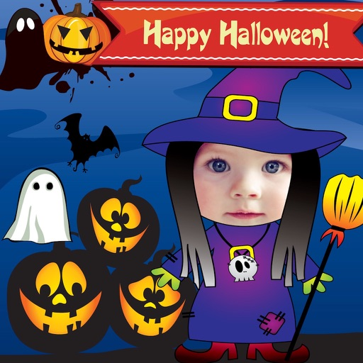 Halloween Cards and Photo Frames icon