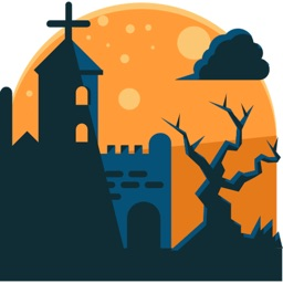 Halloween Stickers and Emoji 's for iMessage