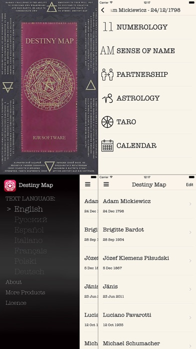 Destiny Map Numerology Astrology Taro review screenshots