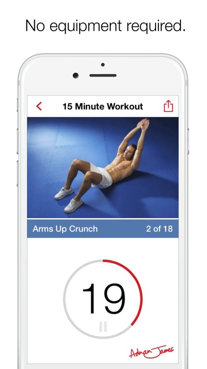 Adrian James 6 Pack Abs Workout screenshot-4