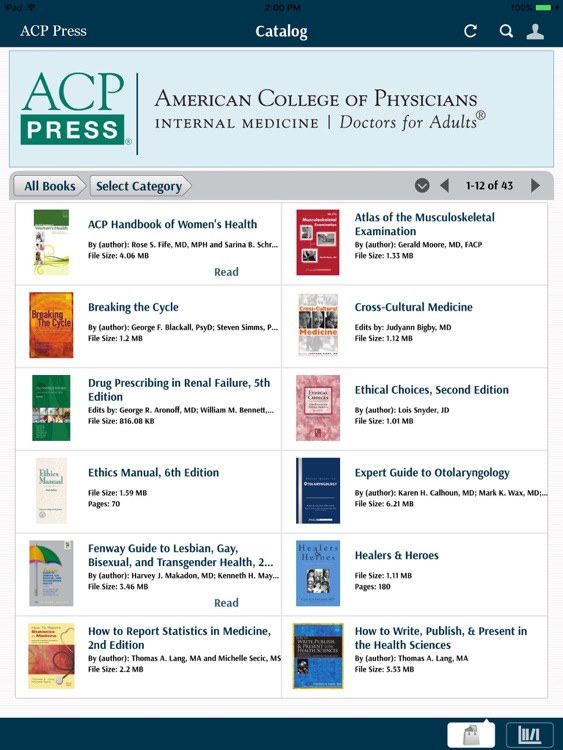 ACP Press eBook Reader screenshot-0