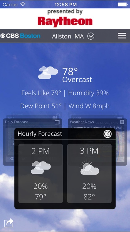 CBS Boston Weather screenshot-0