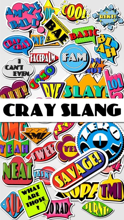 Cray Slang