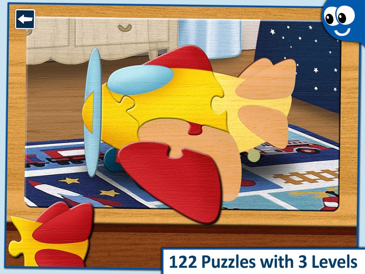 Kids Puzzles 2+:  Jigsaw Puzzle School Learning Game for Preschoolers and Toddlers to Develop Concentration and Problem Solving Skills screenshot-0