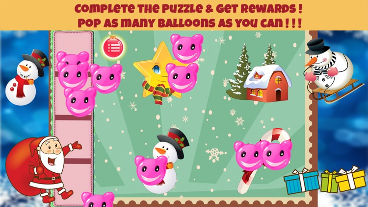 Christmas Shapes Puzzle - Educational Word Learning Game for Kids & Toddlers screenshot-4