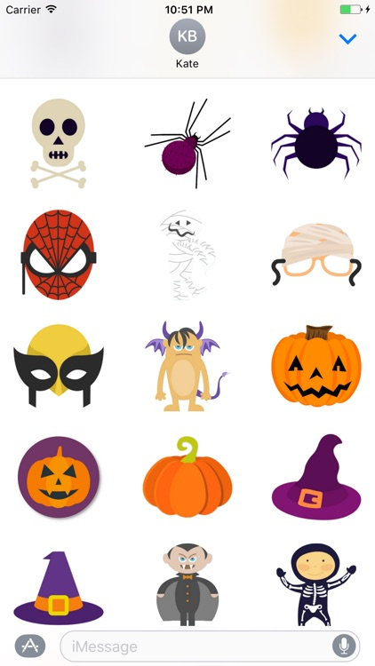 Happy Halloween Stickers Pro